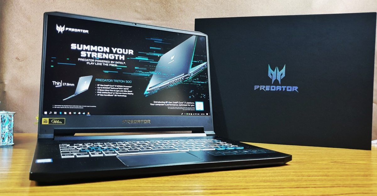 [Review] Acer Predator Triton 500 – Svelte Gaming Goliath